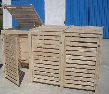 Klikobox ombouw container 3 stuks