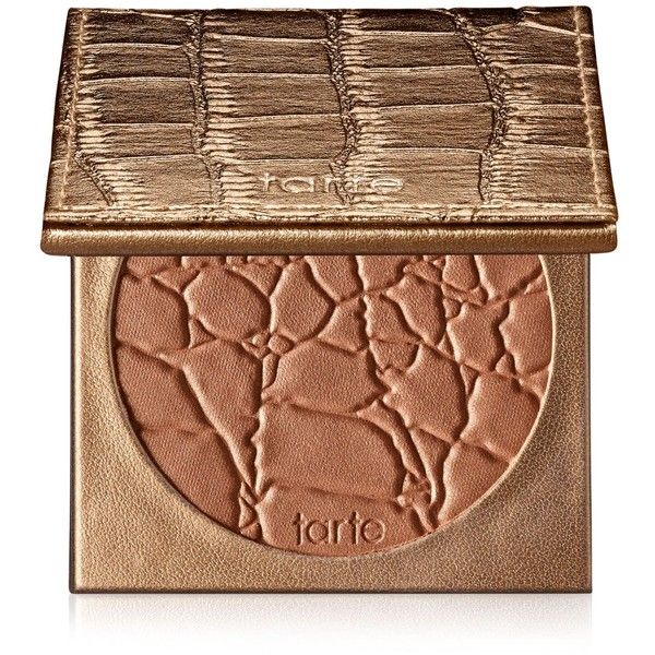 Tarte Amazonian Clay Waterproof Bronzer ($30) ❤ liked on Polyvore featuring beauty products, makeup, cheek makeup, cheek bronzer, beauty, bronzer, cosmetics, faces, filler and park ave princess