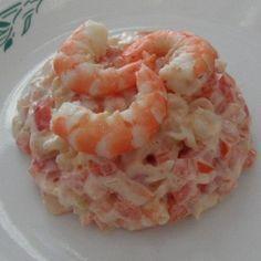 Обалденный салат с креветками (очень простой). Обсуждение на LiveInternet - Российский Сервис Онлайн-Дневников