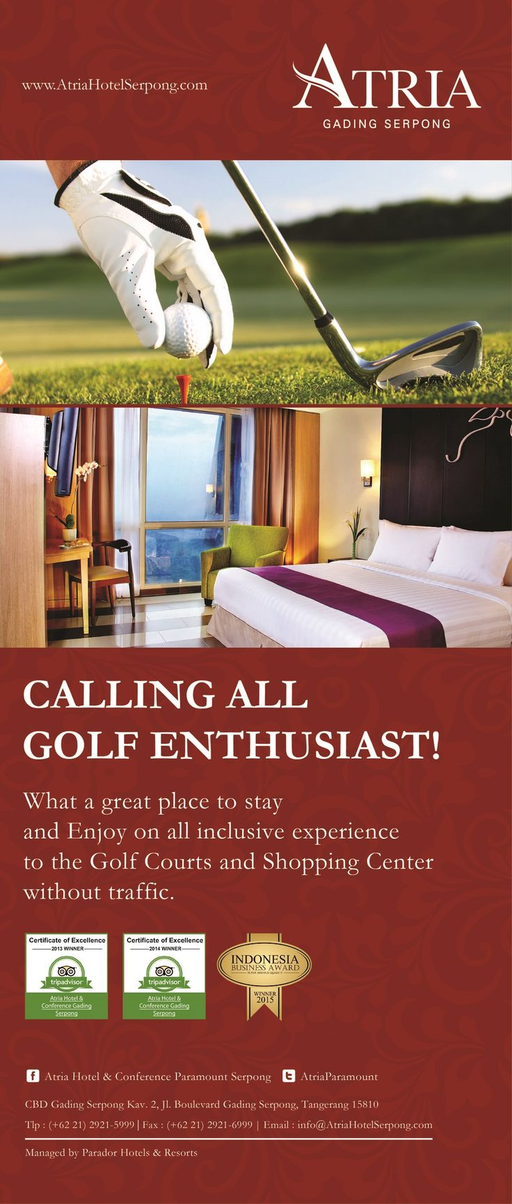 CALLING ALL GOLF ENTHUSIAST! What a great place to stay and enjoy on all inclusive experience to the Golf Courts and Shopping Center without traffic.