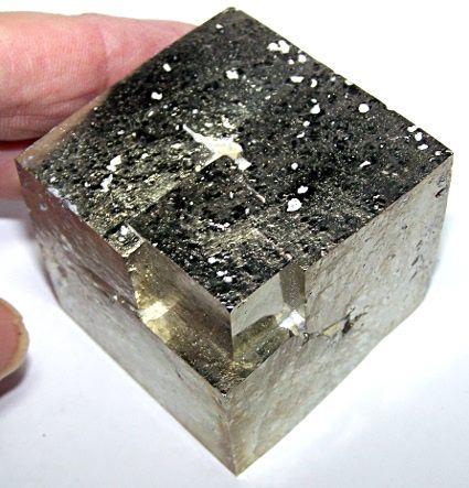 """Class12Gal - 13.Class12Gal - 13.  #Pyrite - Logrono, Spain. 2"""" x 1 3/4""""Good larger piece. $137.50"""