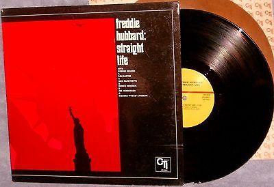 Freddie Hubbard: Straight Life - 12 LP, 1971 CTI, Herbie Hancock, George Benson