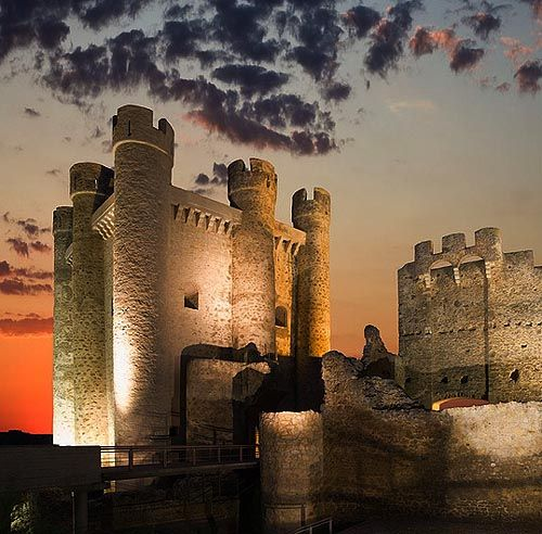 Castillo de Valencia de Don Juan, Valencia de Don Juan, León, Castile and León, Spain..... http://www.castlesandmanorhouses.com/photos.htm .... The castle of Valencia de Don Juan, originally called Valencia de Campos, it was renamed after its First Lord, Infante John (Don Juan) of Portugal.