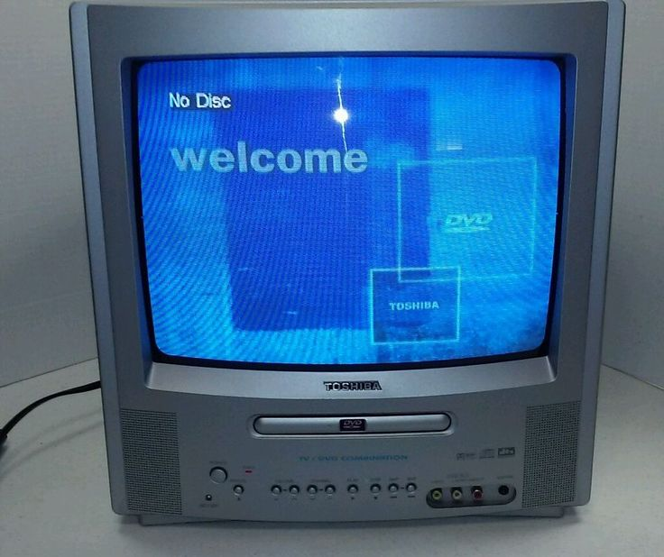 toshiba 13 color tv dvd combo md13n1 w remote toshiba. Black Bedroom Furniture Sets. Home Design Ideas