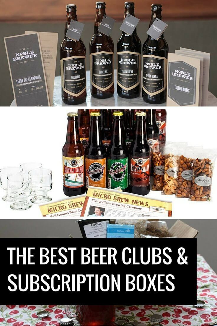 Best Monthly Beer Subscription Boxes