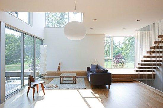 Futuristic Home Design Box House Interior Designs Minimal
