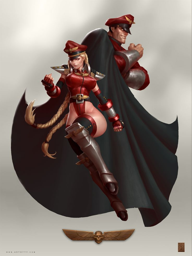 Cammy White & Dictator, Street Fighter