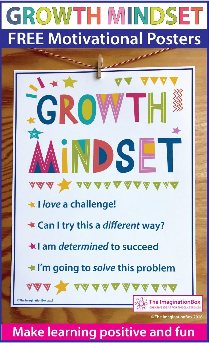 How Teachers Can Create Growth Mindset >> Free Growth Mindset Posters And Writing Activity Teach Art