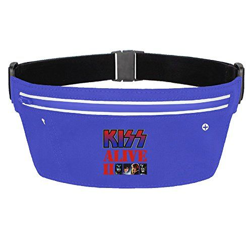 Womens Waterproof Kiss Alive II Waist Bag * You can get more details by clicking on the image.