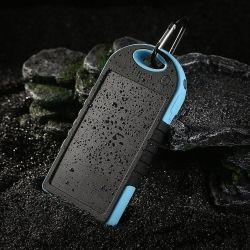 5000mAh Portable Waterproof Solar Charger 2 x USB