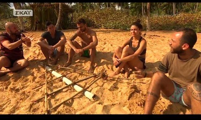 «Survivor»:  Οι «Μαχητές» έγιναν «μαλλιά κουβάρια» για την ψηφοφορία