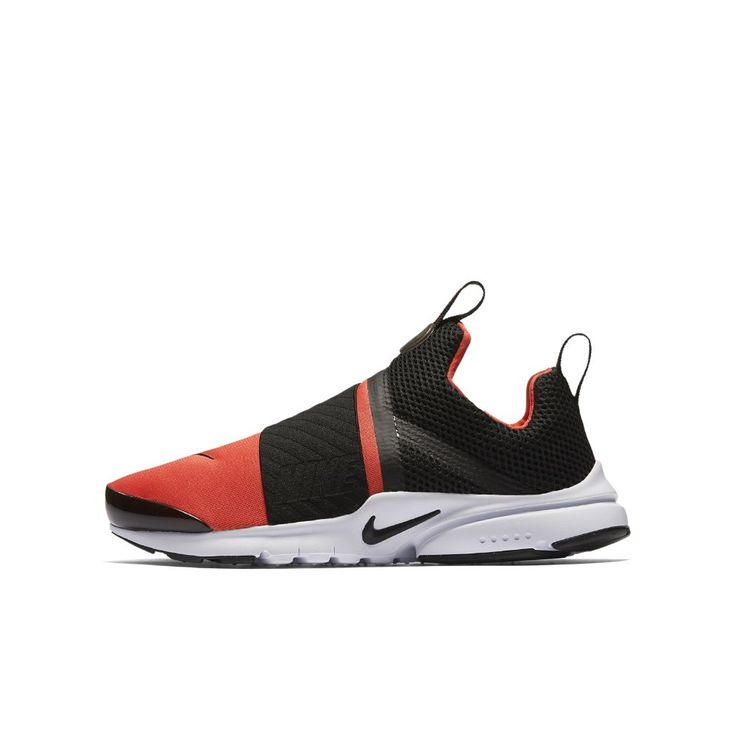 Nike Presto Extreme Big Kids' Shoe Size 5Y (Orange)