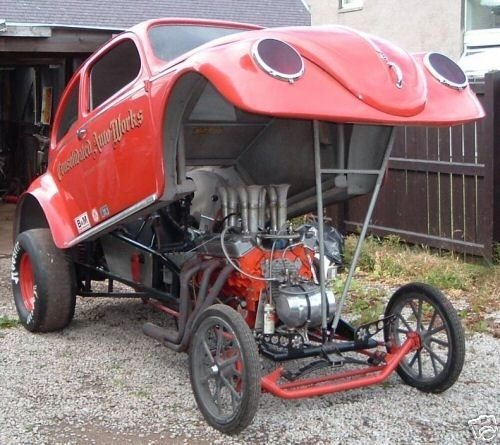 Vw Bug Drag Motor: 125 Best Images About Funny Cars..... And Altered