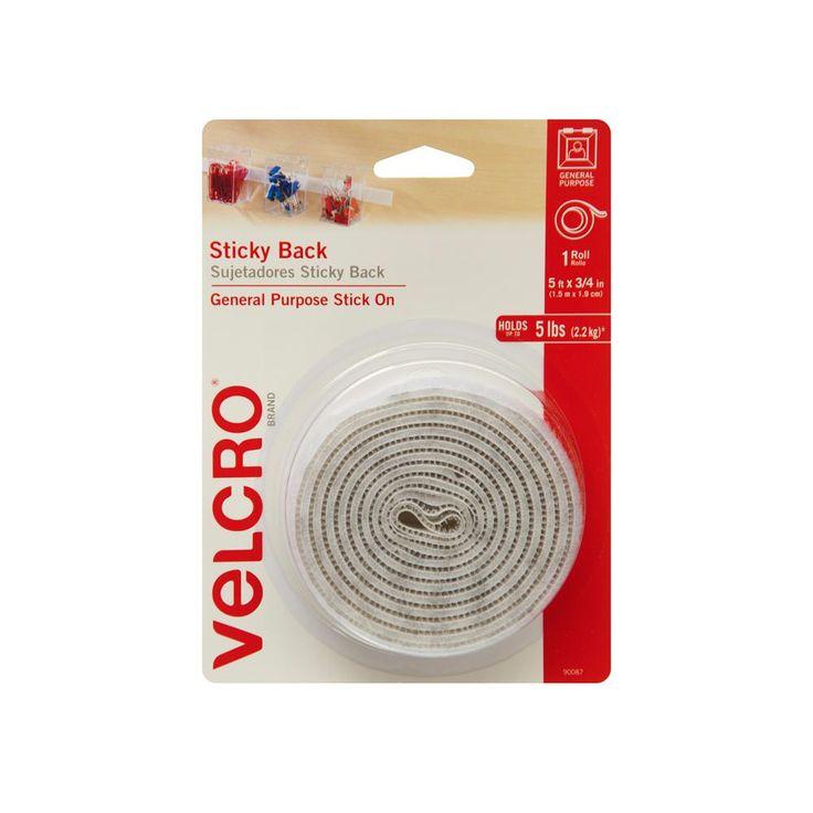 VELCRO Brand 5 ft. x 3/4 in. Sticky Back Tape