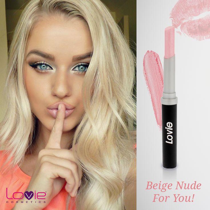 Κραγιόν Στυλό Νο. 29 της Lovie: αγαπημένη απόχρωση! http://www.lovie.gr/kragion-lovie/kragion-stylo/kragion-stilo29 #cosmetics #lips #nude #color #makeup #trends