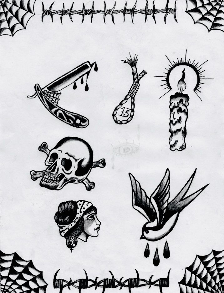 Pin By Anna Hall On Tattoos Old School Tattoo Designs Old School Tattoo Traditional Black Tattoo