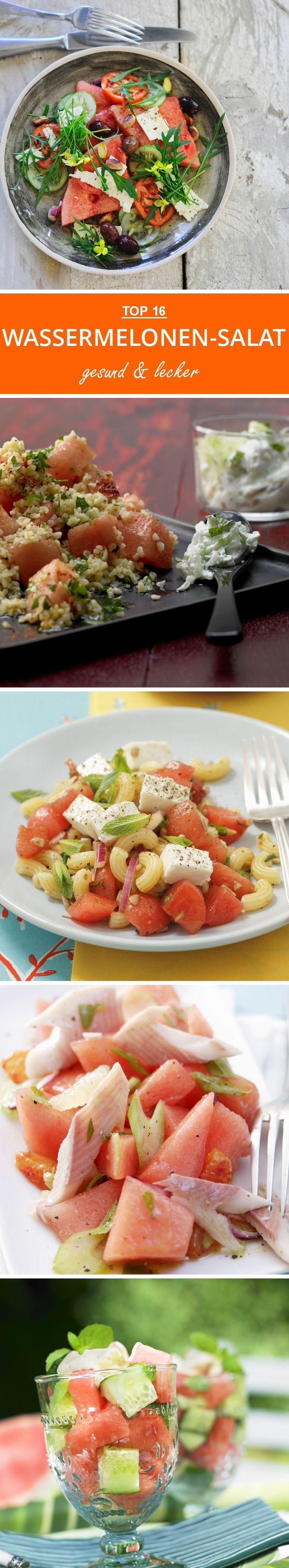 Schnell zubereitet und Low-Carb, unsere besten Wassermelonen-Salate, auf eatsmarter.de