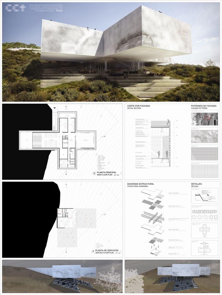 Best Architectural Presentation Boards Images On Pinterest