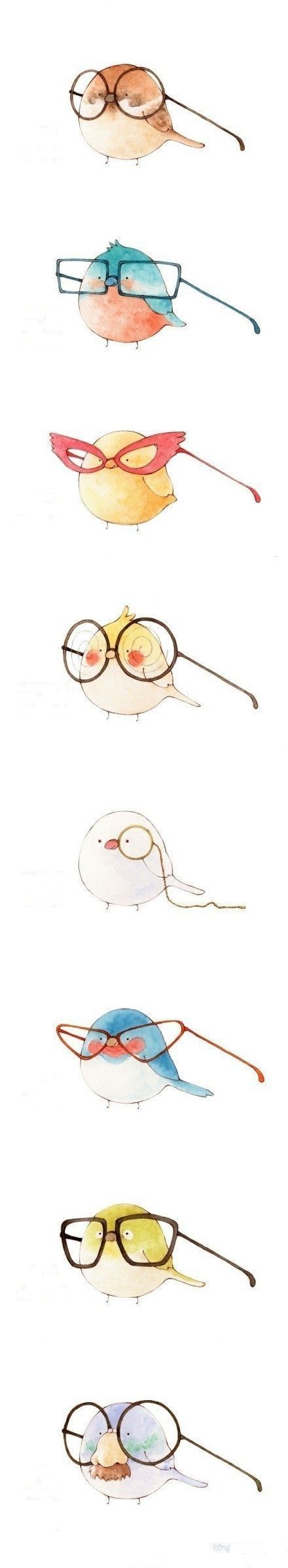 bird glasses... I wonder if any of our birdies need them??  @carriedensmore @saradensmore