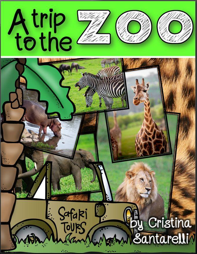 zoo animal activities!
