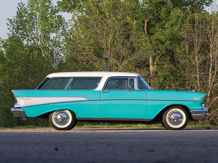 1957 Chevrolet Bel Air Nomad  - see James Orlando's thriller 'The Jade Nomad' (Amazon eBooks worldwide, with free kindle app).