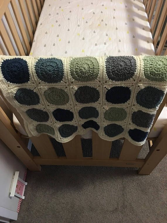 Crochet baby blanket bundle matching lovey pram or cot