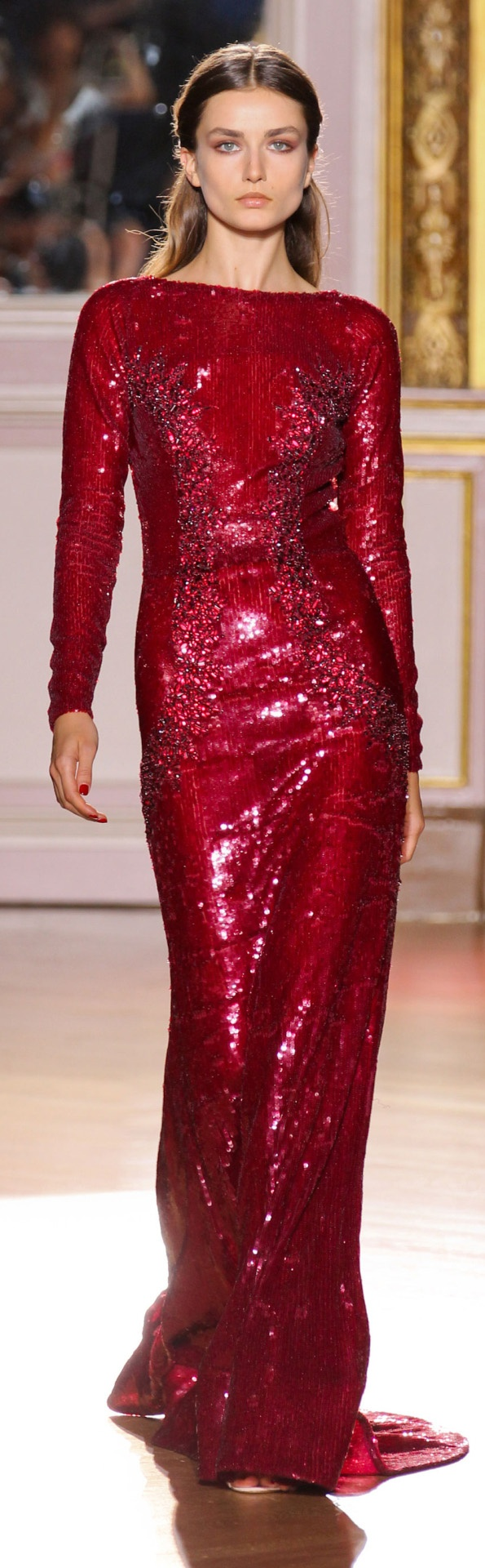 Zuhair Murad Couture Fall 2012 Collection: Jessica Rabbit, Fashion, Zuhairmurad, Zuhair Murad, Red, Colors, Dresses, Fall 2012, Haute Couture