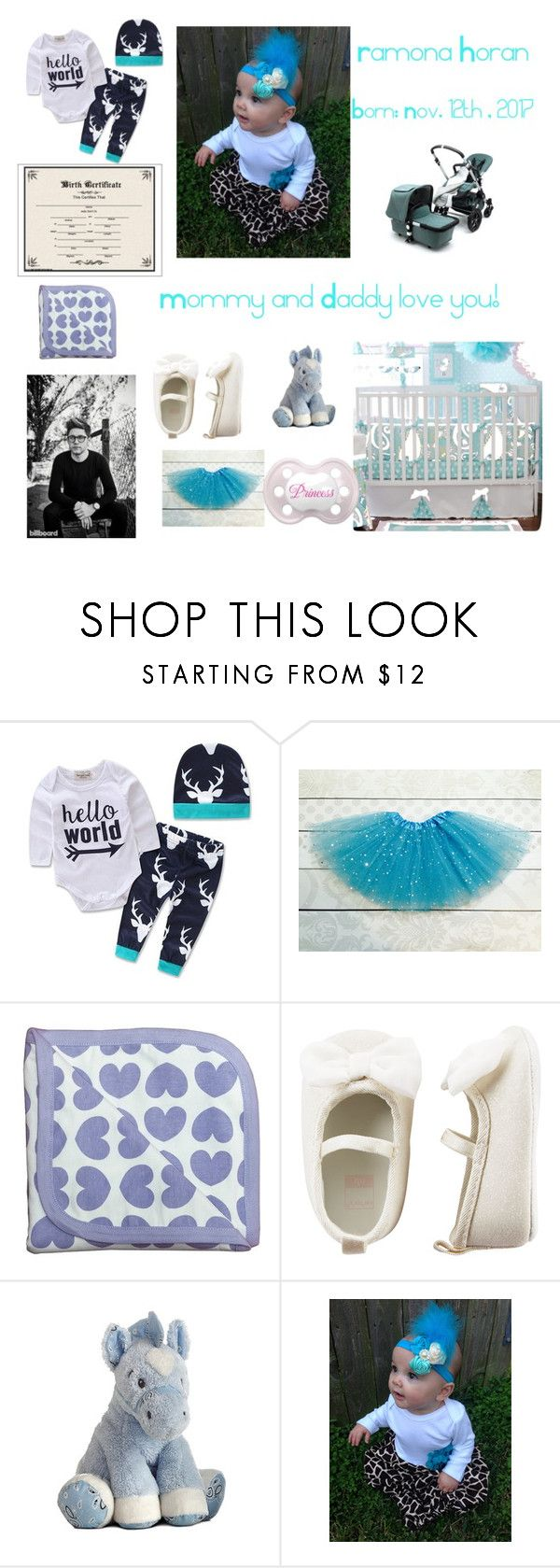 """Baby picture thing #1"" by niallsgirl1998 ❤ liked on Polyvore featuring Monica + Andy, Carter's, Justin Bieber and Bugaboo"