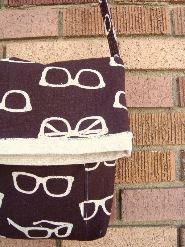 Foldover Messenger Bag Tutorial