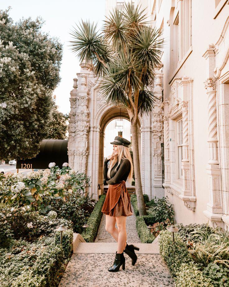 shop Skylar Belle velvet skirt, cute skirt, women's skirt, feminine fashion, wrap skirt, Los Angeles blogger, petite fashion blog, blogger @thestyledseed