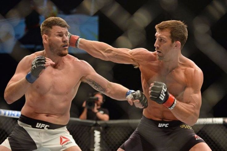 """Former UFC #Champion #LukeRockhold doesn't seem to like current champ #michaelbisping at all for some reason.... He stated : """"I'll put myself in position for that fight [against Bisping]""""""""I can't control if the man will step up and fight me due to his actions in the last year. I can't say that he will take the fight. I think he's avoided every fight. He talks bad about the opponent I have. My opponent is ranked four spots higher than his first and only title defense in a year and three…"""