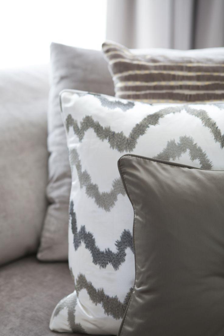 Byron & Jones Interiors - Cushions - Fabrics
