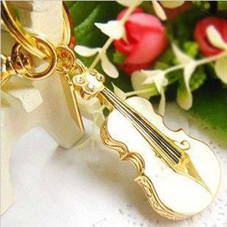 Diamond crystal violin USB Flash Memory Pen Drive Stick 1GB 2GB 4GB 8GB 16GB 32GB U16