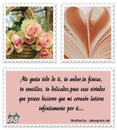 originales frases de amor gratis para enviar,frases de amor para compartir en facebook:  http://www.datosgratis.net/nuevos-mensajes-de-amor-para-mi-pareja%E2%94%82lindas-frases-de-amor-para-tu-pareja/