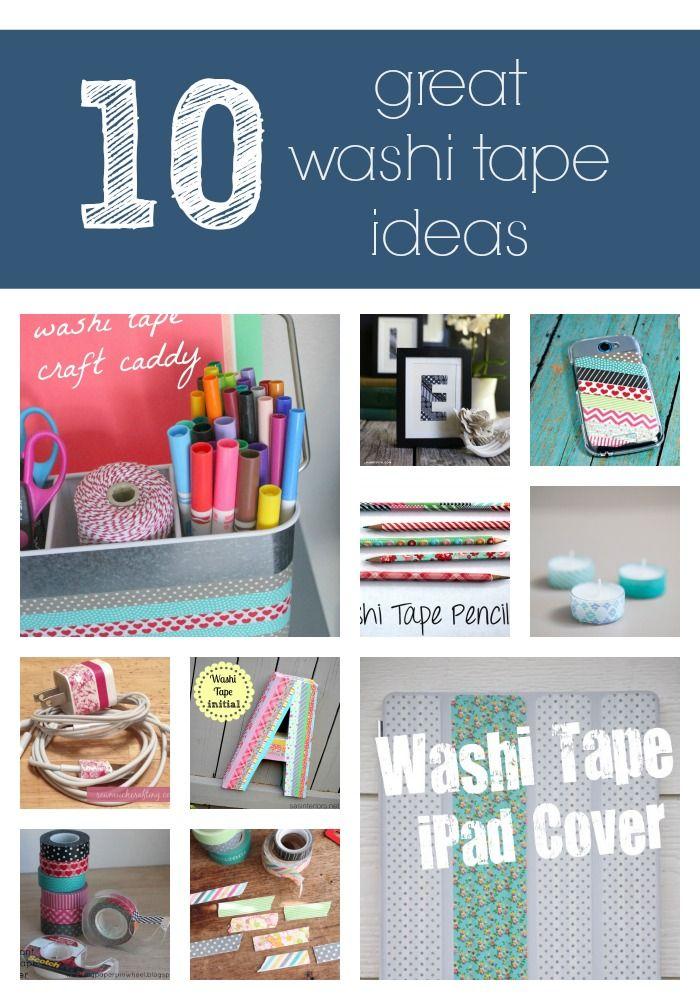 1000 images about duct washi tape on pinterest washi - Washi tape ideas ...