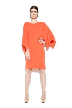 Laura Coral Jersey Dress