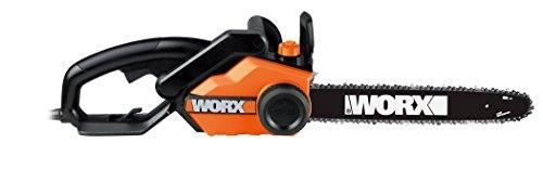 WORX 16-Inch 14.5 Amp Electric Chainsaw with Auto-Tension, Chain Brake, and Automatic Oiling