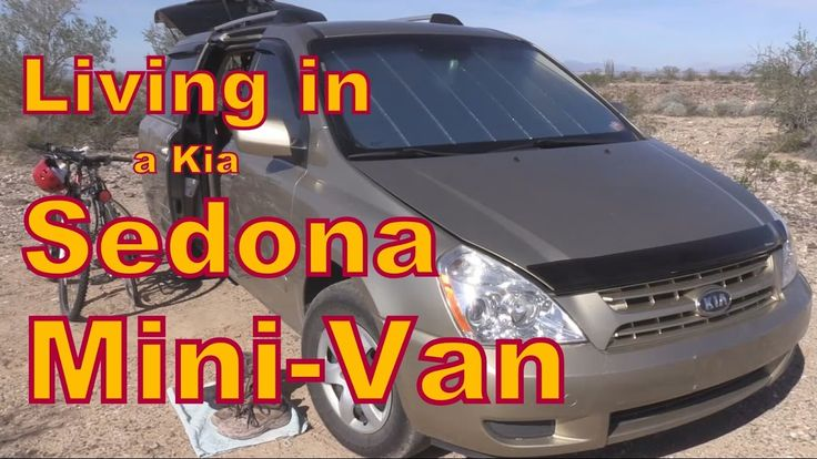 Living or Traveling in a Kia Sedona Minivan  Published on Nov 2, 2016