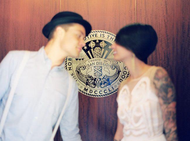 Mariée tatouage