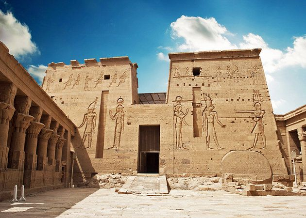Philae Temple- Egypt Nile Cruises Packages http://www.maydoumtravel.com/Egypt-Nile-Cruises-packages/9/0/