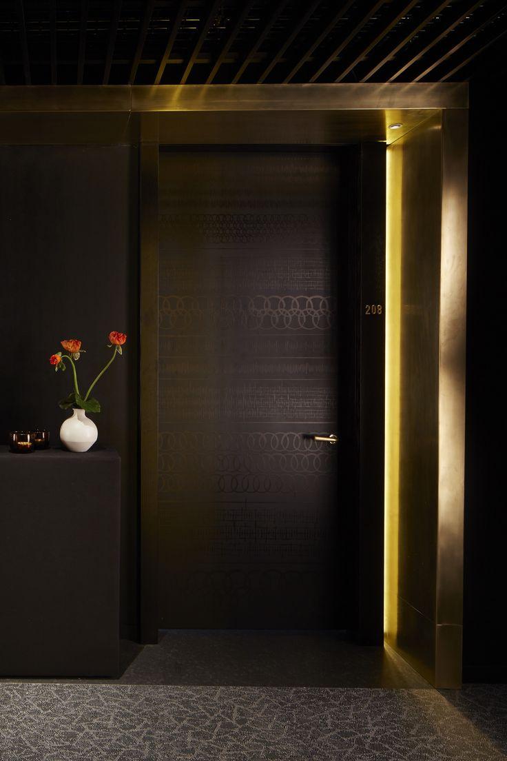 Shoreditch Design Rooms: Nobu Hotel Shoreditch Guestroom Door