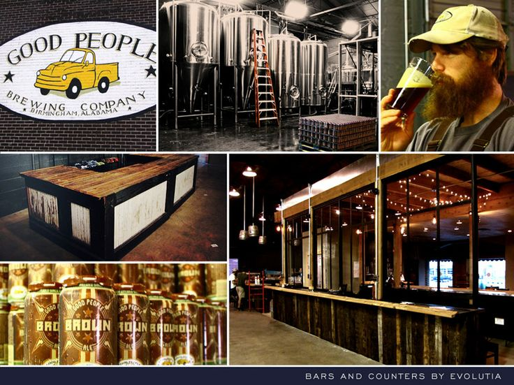 Good People Brewery, Birmingham, AL. Quality antique and reclaimed lumber  ... - 31 Best Images About Venues On Pinterest Tins, Pine Flooring And