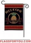 Welcome Pineapple Garden Flag - 2 left
