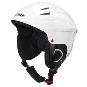 Sinner Empire Shiny White Airpump Skihelm Snowboard helm