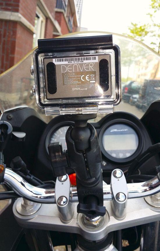 RAM Mount Tough-claw montage camera universeel.