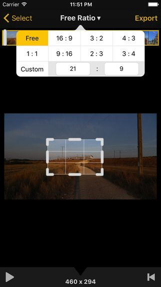 Video Crop App - Remove unwanted areas! #free #iphoneography
