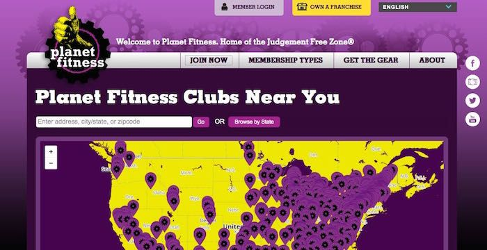 Planet Fitness Sign Up