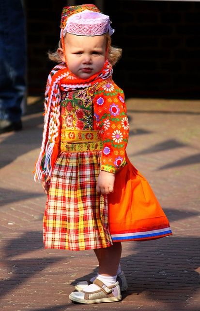 Queensday dress from Marken,Holland