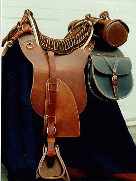 Hope Saddle Civil War | Confederate Officer's Saddle ...