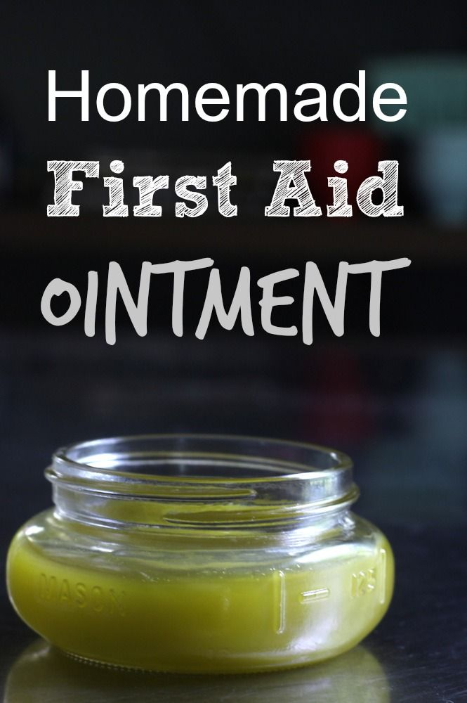 """First aid ointment made with a common backyard """"weed."""" My kids are going to love this."""